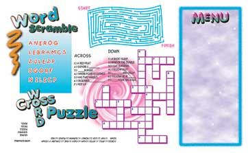 Kids Placemats - Theme 176