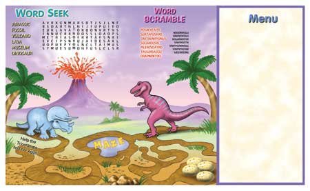 Kids Placemats - Theme 180
