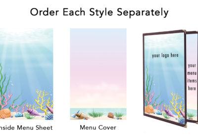 Theme Menu Paper Style 100