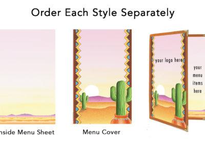 Theme Menu Paper Style 102