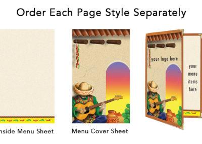 Theme Menu Paper Style 108