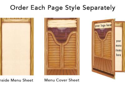 Theme Menu Paper Style 122