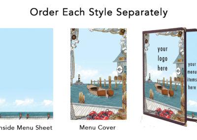 Theme Menu Paper Style 146