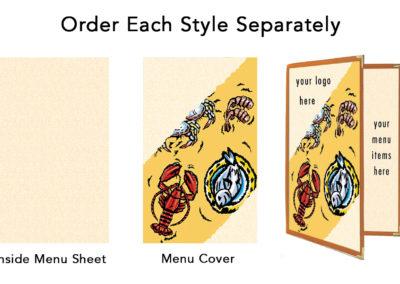 Theme Menu Paper Style 147