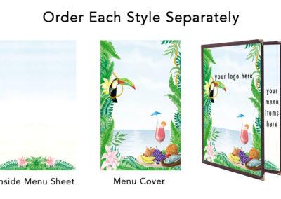 Theme Menu Paper Style 150