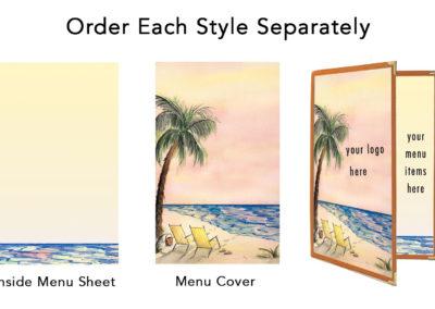 Theme Menu Paper Style 195