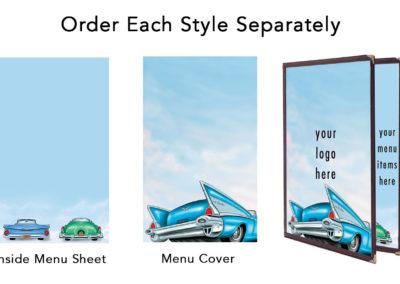 Theme Menu Paper Style 201