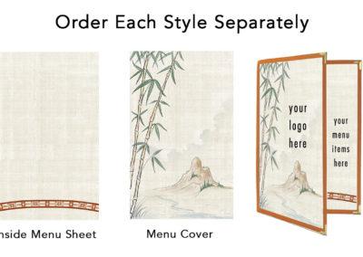 Theme Menu Paper Style 202