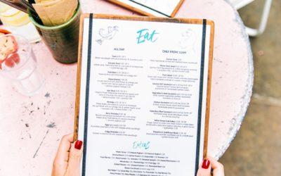 How To Make A Restaurant Menu: Part 1